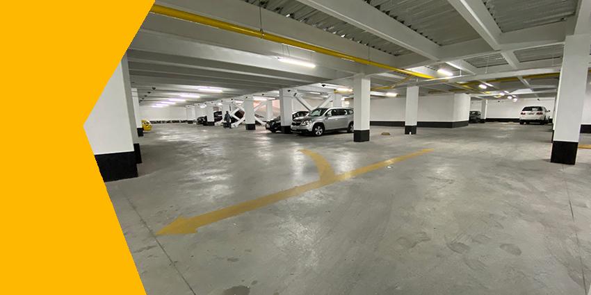 Axxis Hospital aumentó la capacidad de estacionamientos para comodidad de sus pacientes.