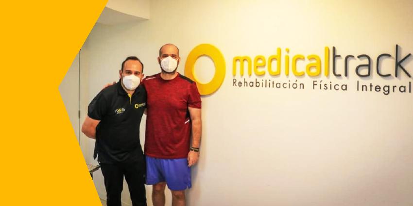 Agustín Intriago, Alcalde de Manta culminó con éxito su terapia post covid en Medicaltrack Manta