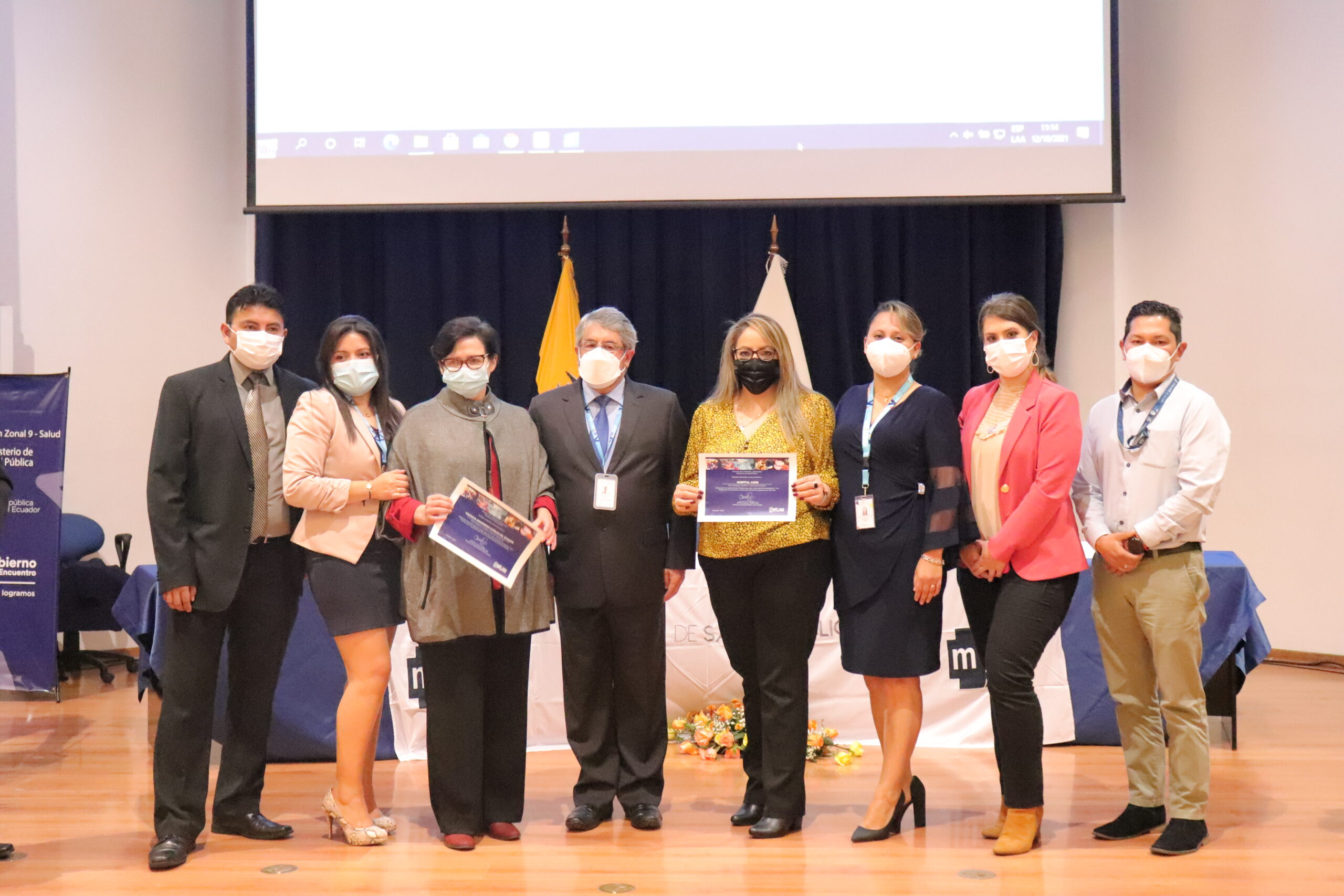 Axxis Hospital de Especialidades recibió reconocimiento por parte de Gobierno Nacional
